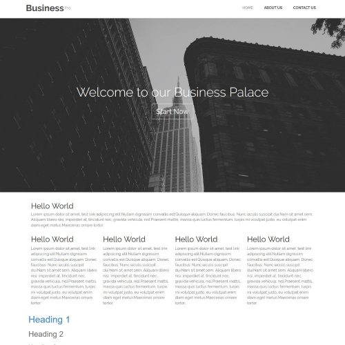 Business Consultant Professional Joomla Template