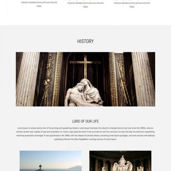 Churches - Charity Fund raising Beautiful Joomla Template