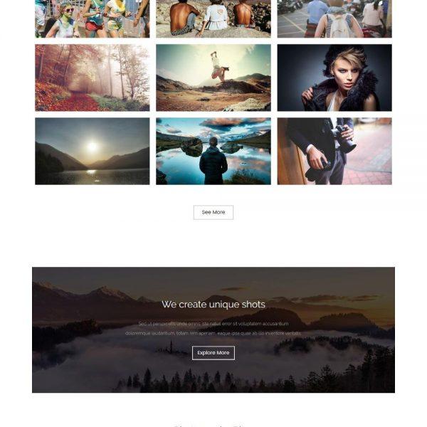 Click IT - Professional Photography Portfolio Joomla Template