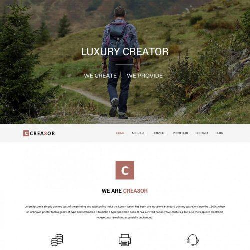 Creator - Multipurpose Joomla Portfolio Template