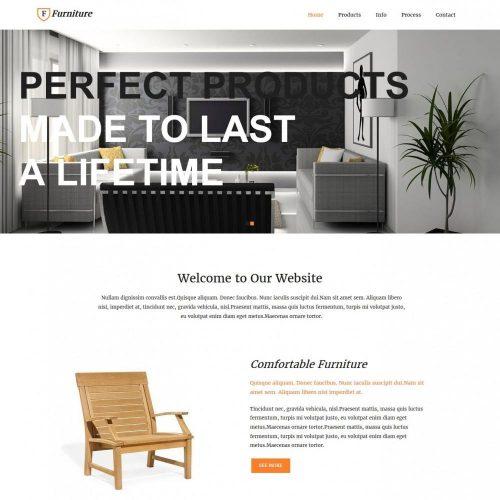 Furniture - Joomla Template for Furniture Enterprises