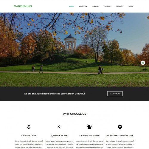 Gardening - Eco Nature/Garden Joomla Template