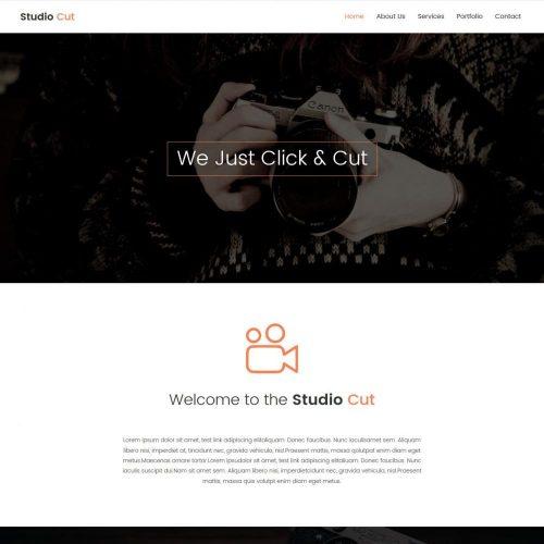 Studio Cut - Creative Photography Joomla Template