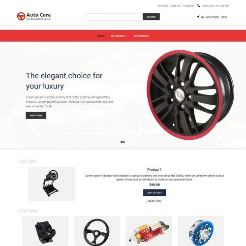 Auto Care - Automobile Accessories PrestaShop Theme