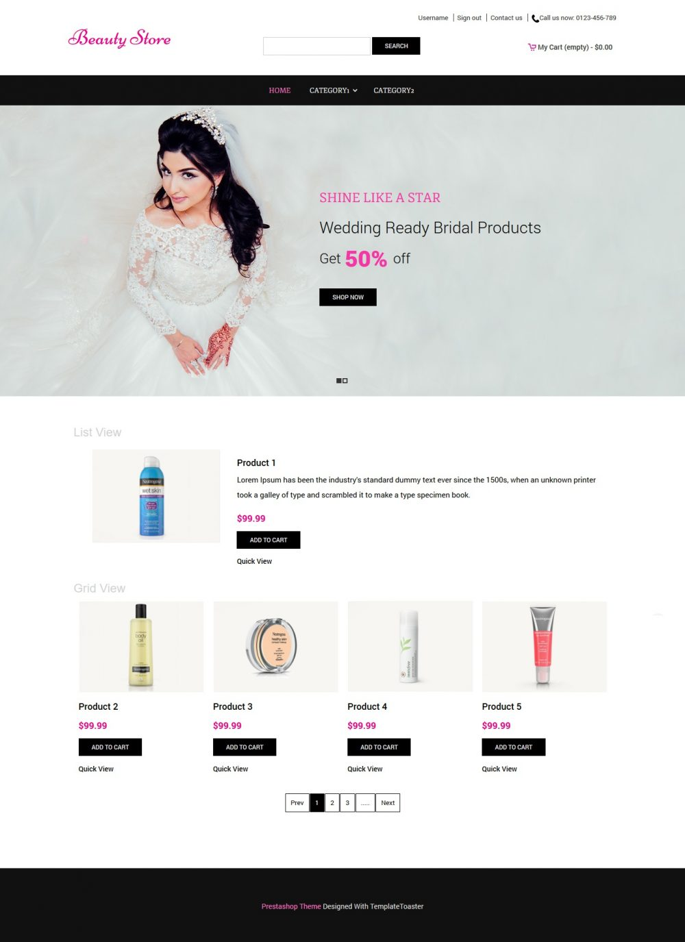 Beauty Store - Beauty Shop PrestaShop Theme