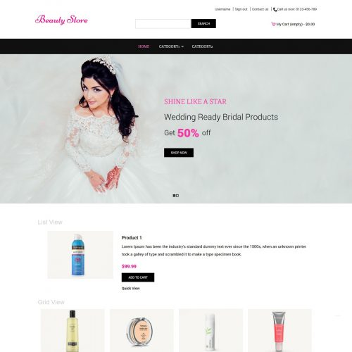 Beauty Store - Beauty Shop PrestaShop Theme