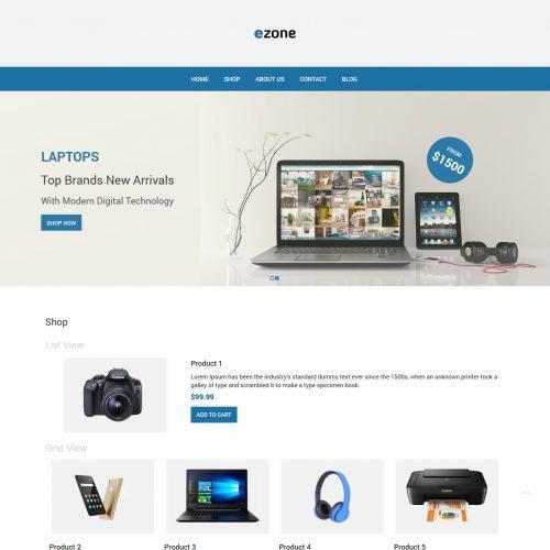 Ezone - Electronic Shop WooCommerce Theme