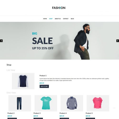 Fashion - Clothing Shop WooCommerce Theme