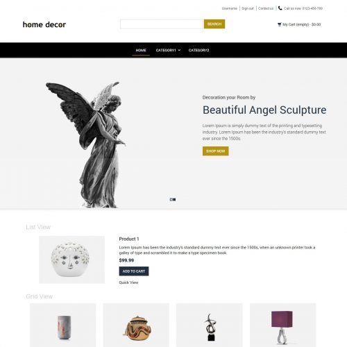 Home Decor Home Interior Products Prestashop Theme