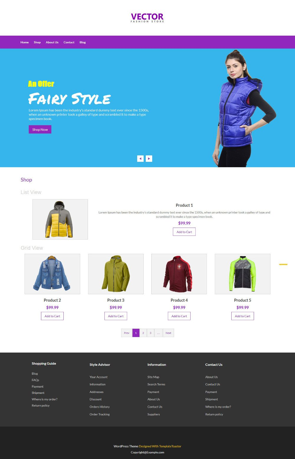 Vector Fashion Accesories WooCommerce Theme
