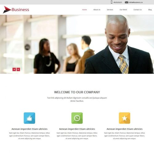 Business Octane Marketing Blogger Template
