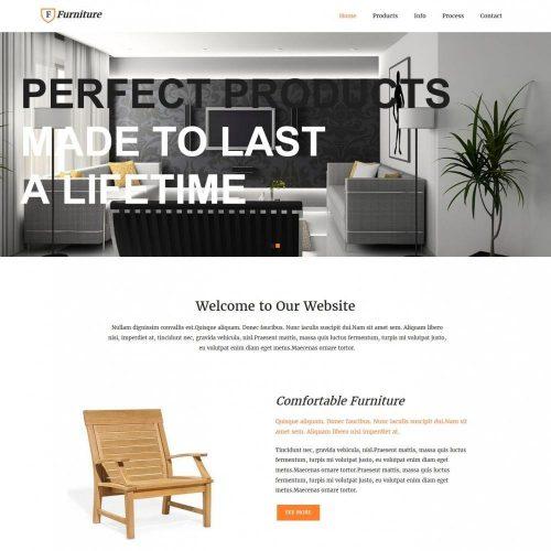 furniture enterprises blogger template