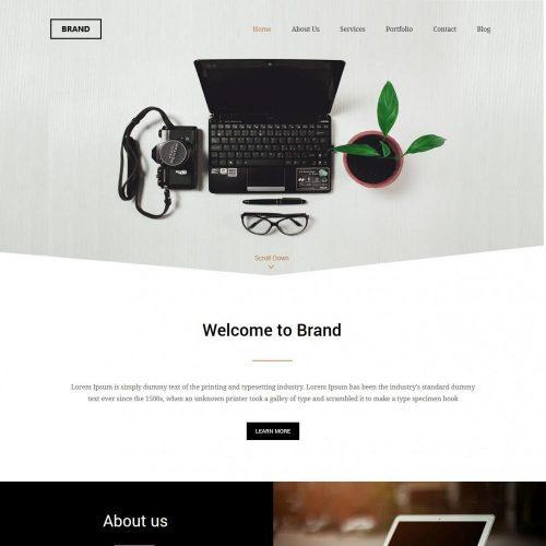 Brand Management Companies HTML Template