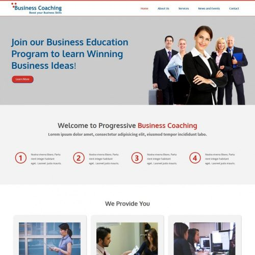 Business Coaching HTML Template