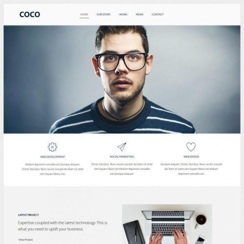 COCO web agency drupal theme