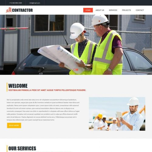 Contractor Amazing Construction Business HTML Template
