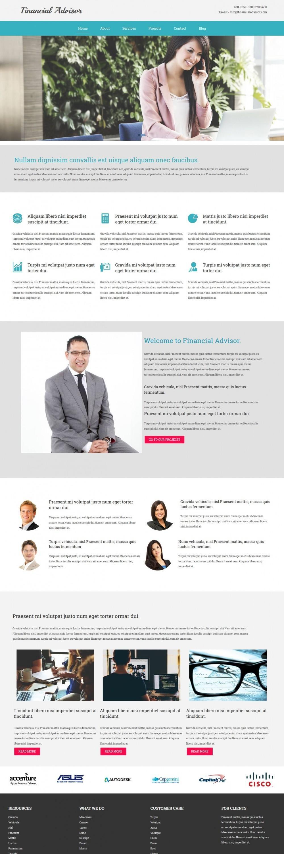Finance Advisor Company HTML Template