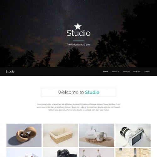 Studio Photography Drupal Theme