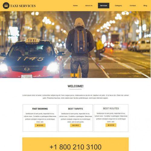 Taxi – Business Drupal Theme