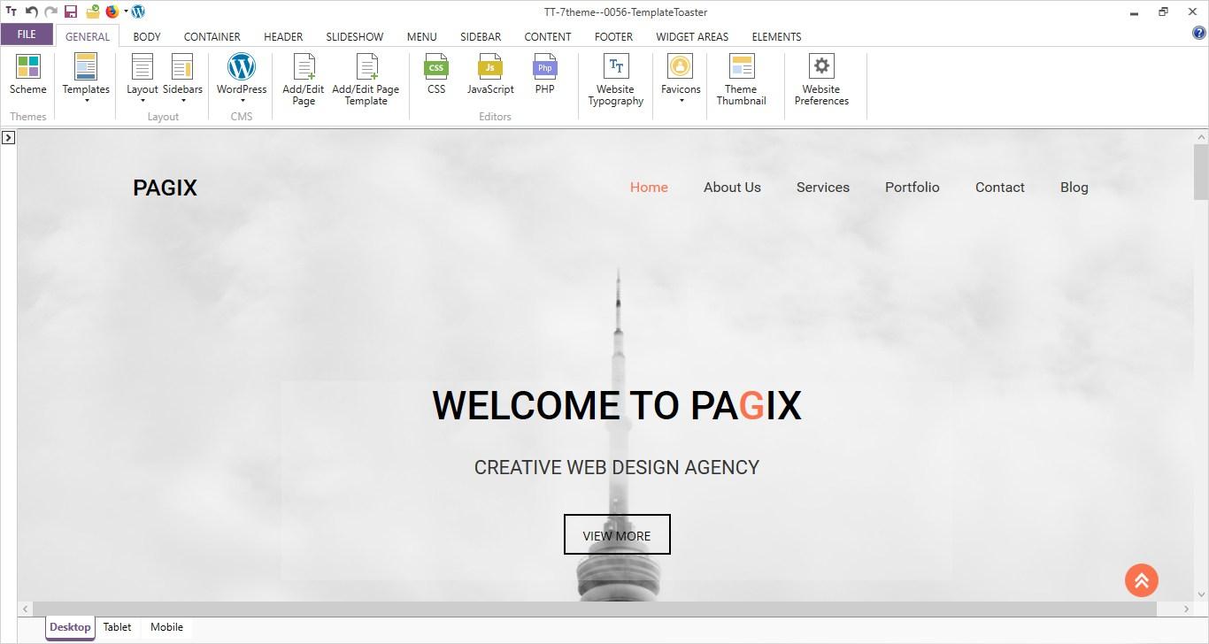 Programa para crear paginas web