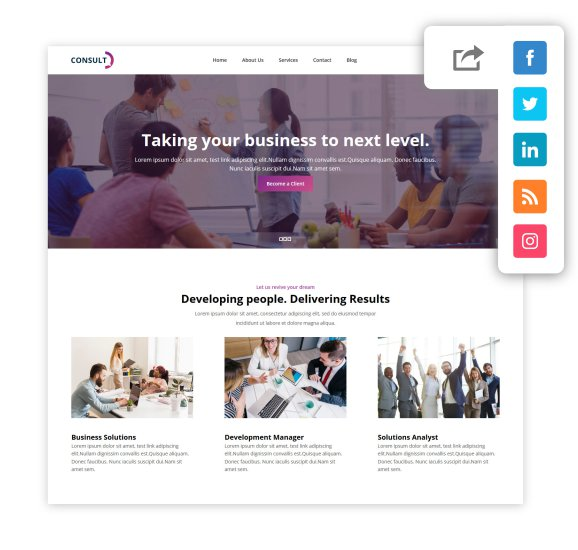 bootstrap layout builder