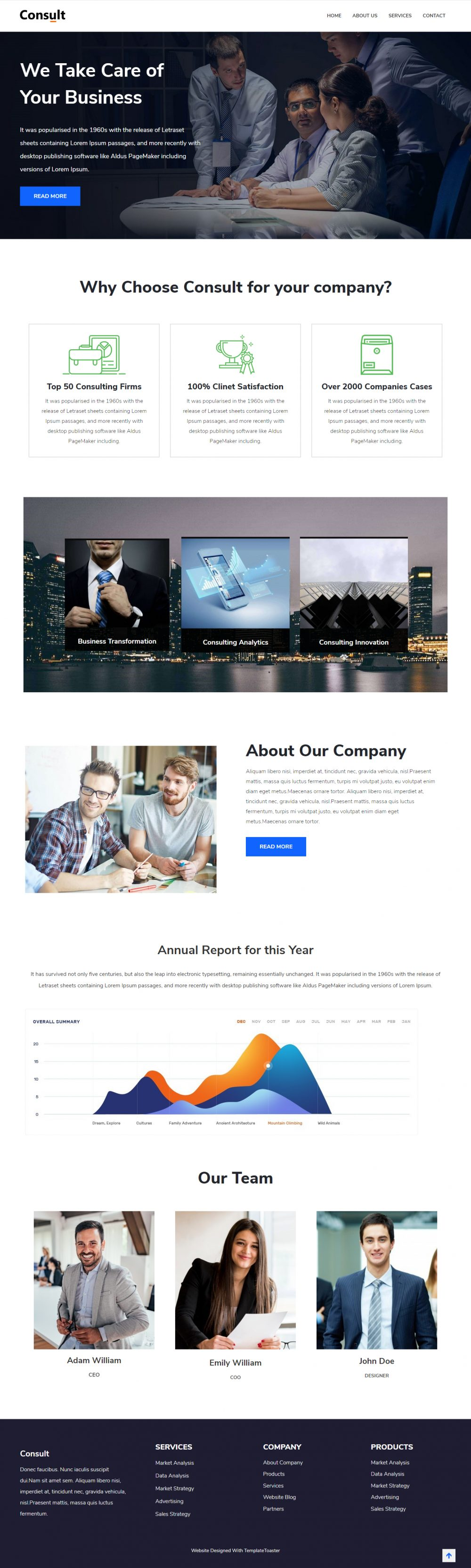 Consult - Business Consulting Joomla Template