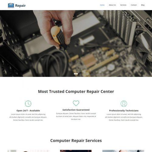 Repair - Computer Repair & Mobile Repair Service Joomla Template
