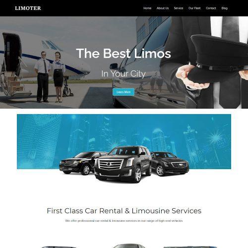Limoter -Limousine and Car Rent Drupal Theme