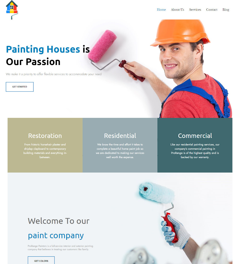 Paintrix - Paint Company WordPress Theme