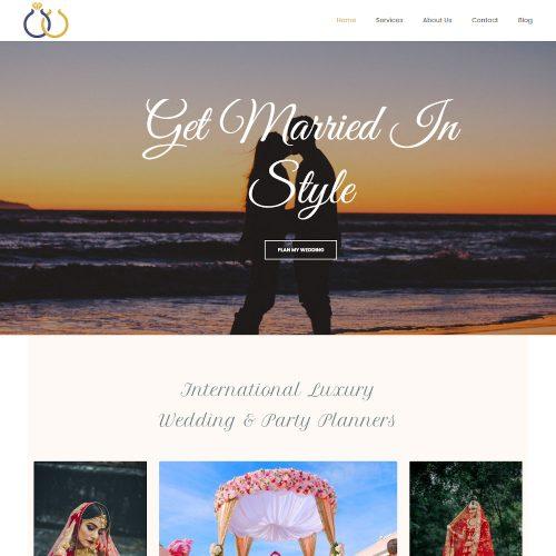 Wedding Organizer & Event Planner Drupal Theme