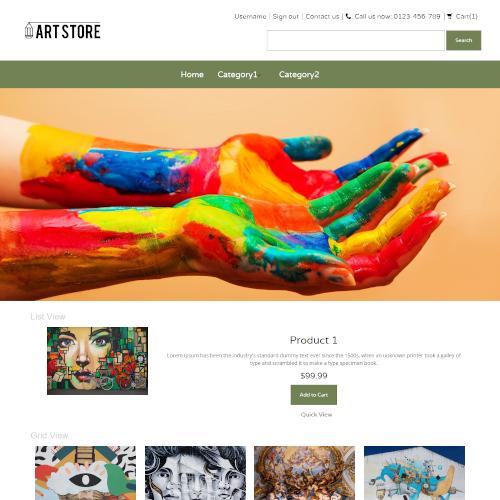 Art PrestaShop Themes