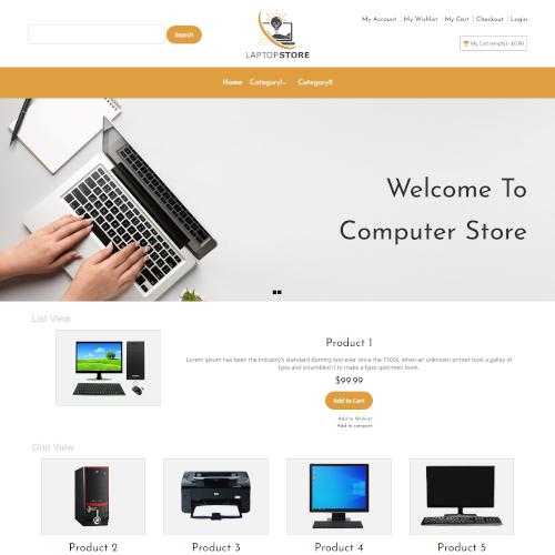 Computers Internet Magento Themes