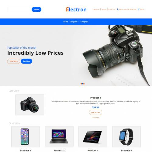 Electronics Magento Themes