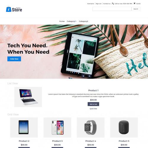 Electronics PrestaShop Themes