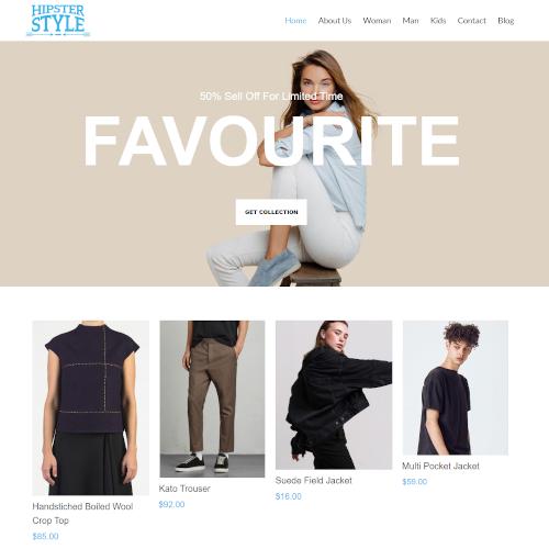 Fashion Joomla Templates