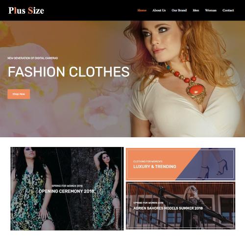 Fashion HTML Templates