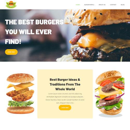 Food and Restaurant Joomla Templates
