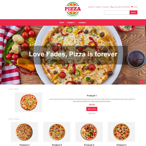 Food and Restaurant Magento Themes
