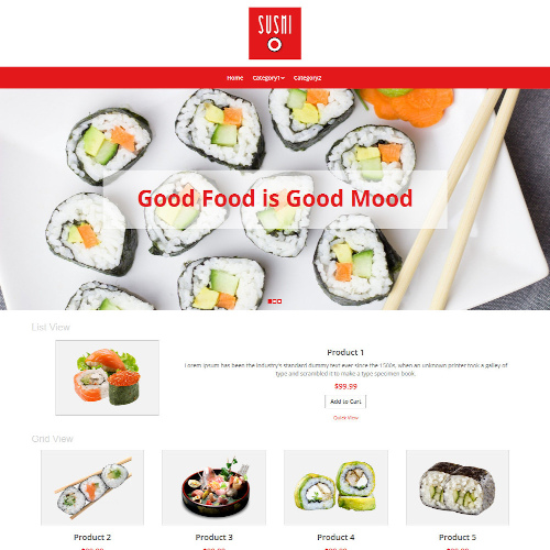 Food and Restaurant WooCommerce Themes