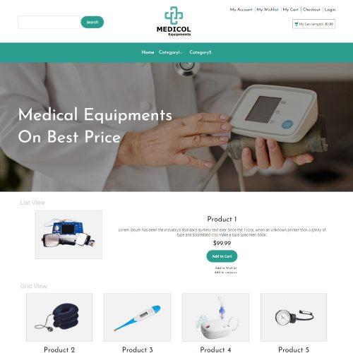Medicol - Online Medical Equipments Store Magento Theme