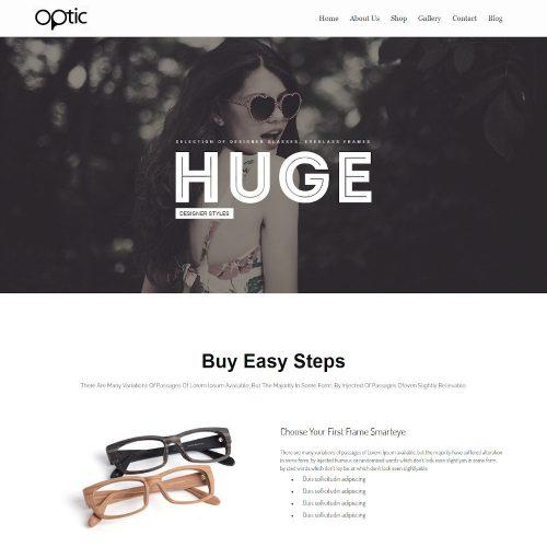 Optics -Optometrist & Eye Care Joomla Template