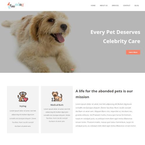 Pets and Animals Joomla Templates