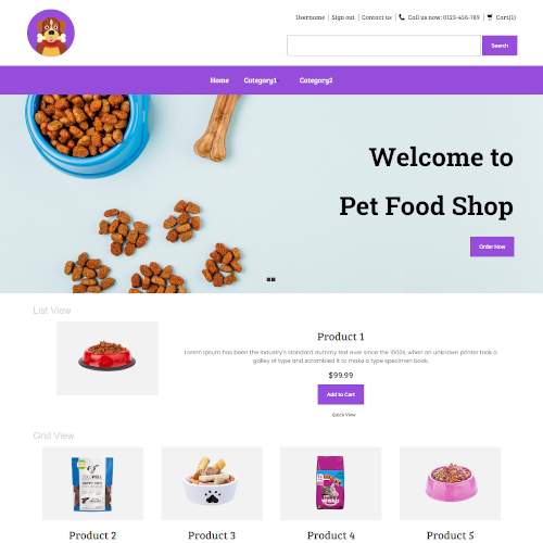 Pets and Animals PrestaShop Themes