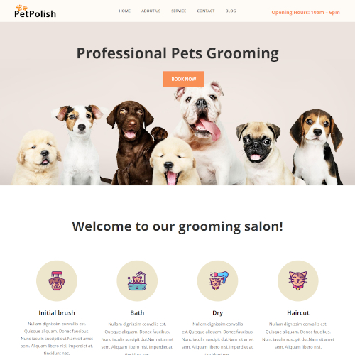 Pets and Animals HTML Templates