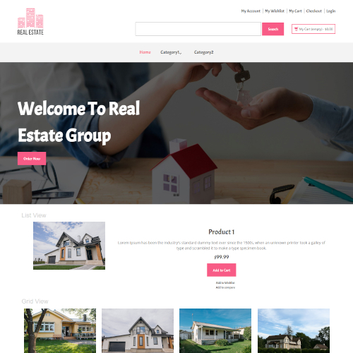 Real Estate Magento Themes