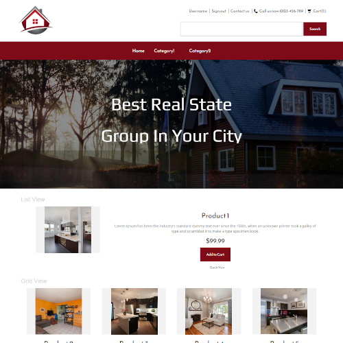 Real Estate PrestaShop Themes