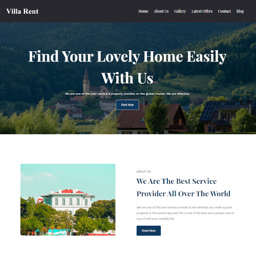 Real Estate HTML Templates