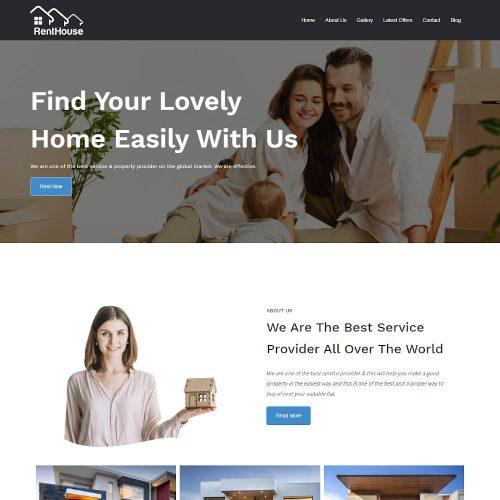 Rent House - Multi Concept House, Apartment Rent Joomla Template
