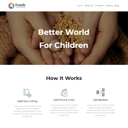 Society and People WordPress Themes