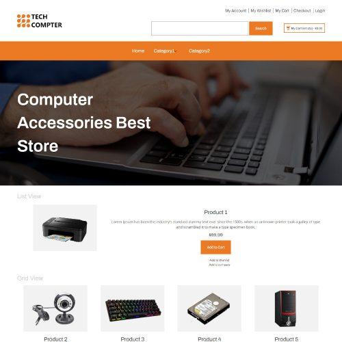 Tech Computer - Online Computer Accessories Store Magento Theme